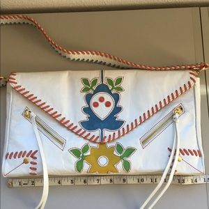 Leather Appliqué Bag